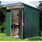 Avantgarde Medium Heavy Duty Metal Shed 6x7 - Dark Grey