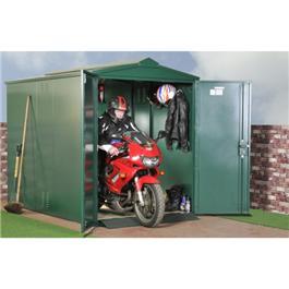 Asgard Motorcycle Garage Green Metal Storage