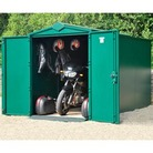 Asgard Motorbike Metal Shed Garage Plus