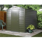TrimetalsTitan 680 Metal Shed 6 x 6