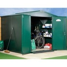 Asgard Gladiator Metal Shed Green 7 x 7