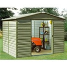 Yardmaster 108SL Metal Garden Shed