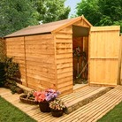 BillyOh 30MWindowless Classic Overlap Apex 9'x6' Shed