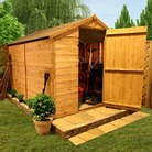 10'x6' BillyOh Windowless 300M Tongue and Groove Apex Shed
