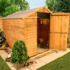 8'x6' 20M BillyOh Economy Windowless Rustic Overlap Shed