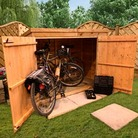 BillyOh 3'x6' Overlap Pent Bike Shed - Store