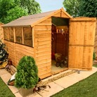BillyOh 20M Rustic Economy Overlap Apex Shed - 7'x6'