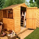 4' x 6' Overlap Apex Shed BillyOh 30S Value