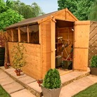 10' x 6' Shed BillyOh 4000MLincoln Tongue and Groove Apex