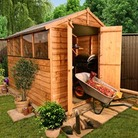 10' x 6' BillyOh 400M Lincoln Overlap Apex Garden Sheds