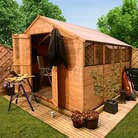 BillyOh 4000XL Lincoln Workshop Tongue and Groove 10'x10' Garden Shed