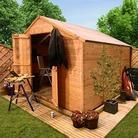 BillyOh 4000XL Windlowless Lincoln TandG Apex 16'x10' Wooden Garden Workshop