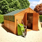 BillyOh 400XL Lincoln Overlap Workshop Shed 12'x10'