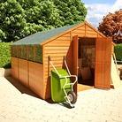 BillyOh 400XL Lincoln Overlap Workshop Garden Shed 10'x10'