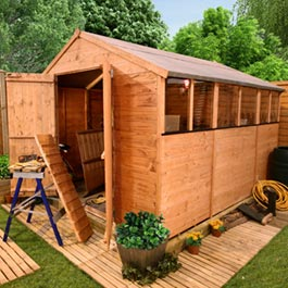 BillyOh 4000 Tongue and Groove Apex Shed 12'x10'