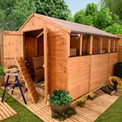 BillyOh 4000 Tongue and Groove Apex Shed 10&#x27;x10&#x27;