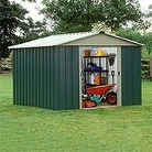 Yardmaster 89GEYZ Metal Shed 8x9