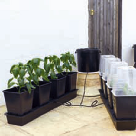 'Octogrow' Growing System - Pack of 4 Protective Lids