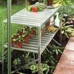 Aluminum Greenhouse Staging