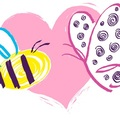 Butterfly_heart_bee